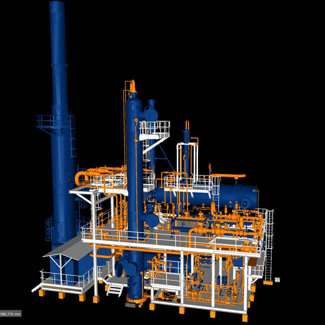 Gas Processing Facility