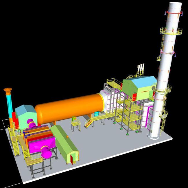 Thermal Incinerator Package